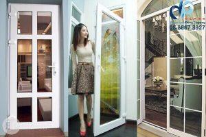 Thi công cửa nhựa lõi thép đẹp Quận Phú Nhuận